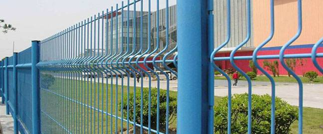 The use of triangular bending fence