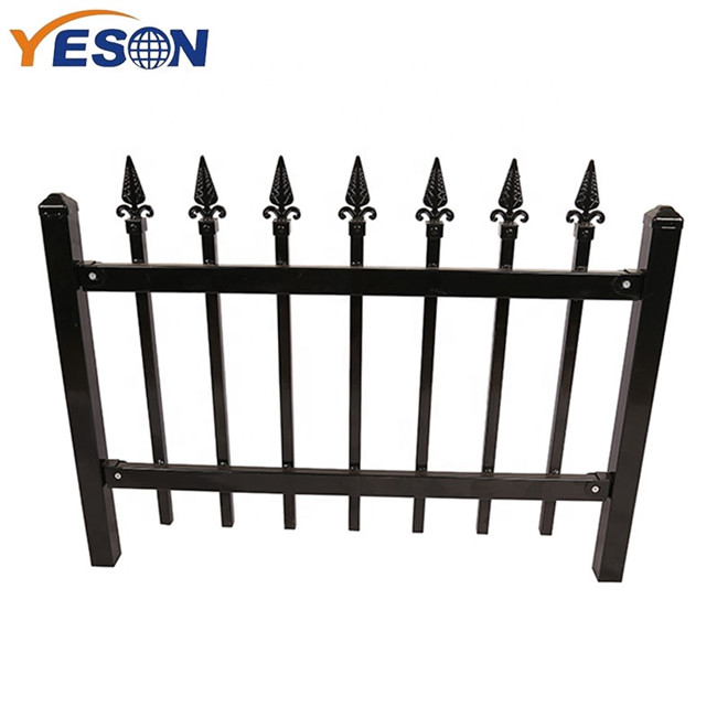 High reputation Wrought Iron Fence And Gate - Wrought Iron Fence – Yeson Featured Image