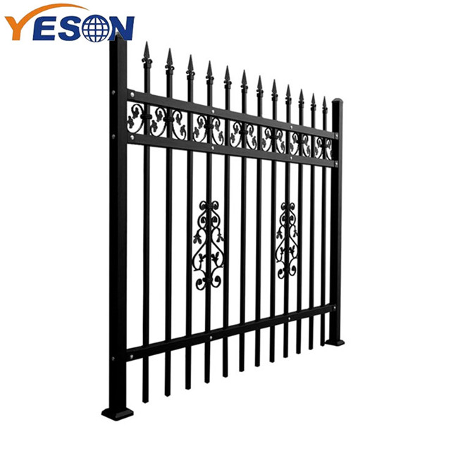 High reputation Wrought Iron Fence And Gate - Wrought Iron Fence – Yeson