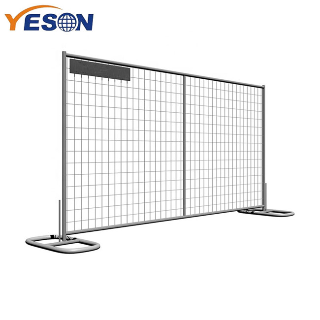New Arrival China Parking Fence - welding temporary fence – Yeson