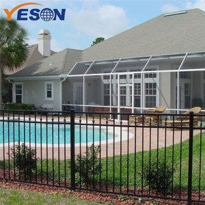 Cheapest Price Residential Aluminum Fence - flat top fence – Yeson