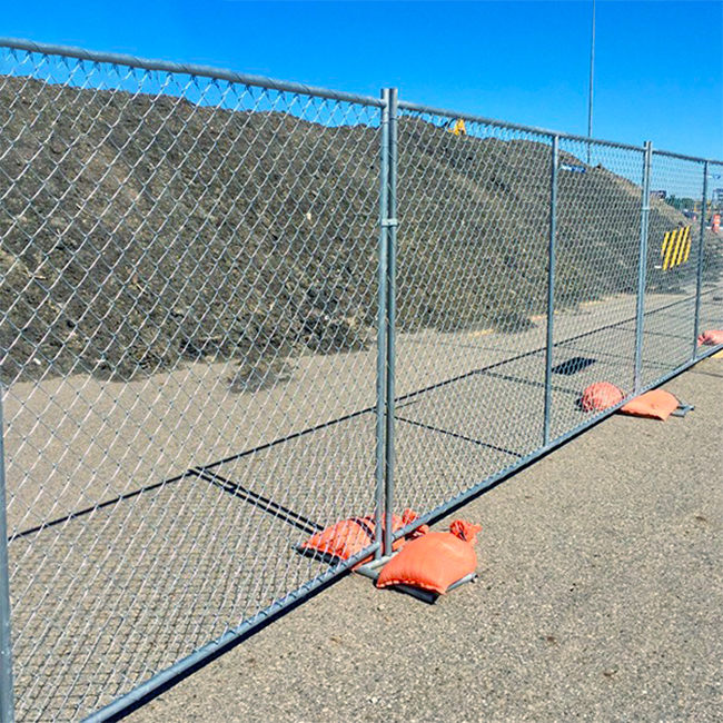 Galvanized Temporary Fencing Featured Image