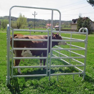 Galvanized horse Fence Panels