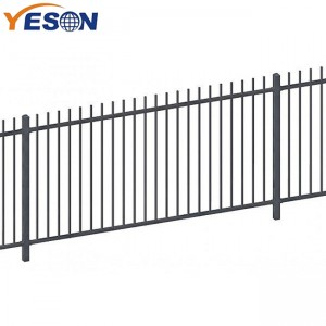 Best Price for Wrought Iron Modern Gate - rod top fence – Yeson