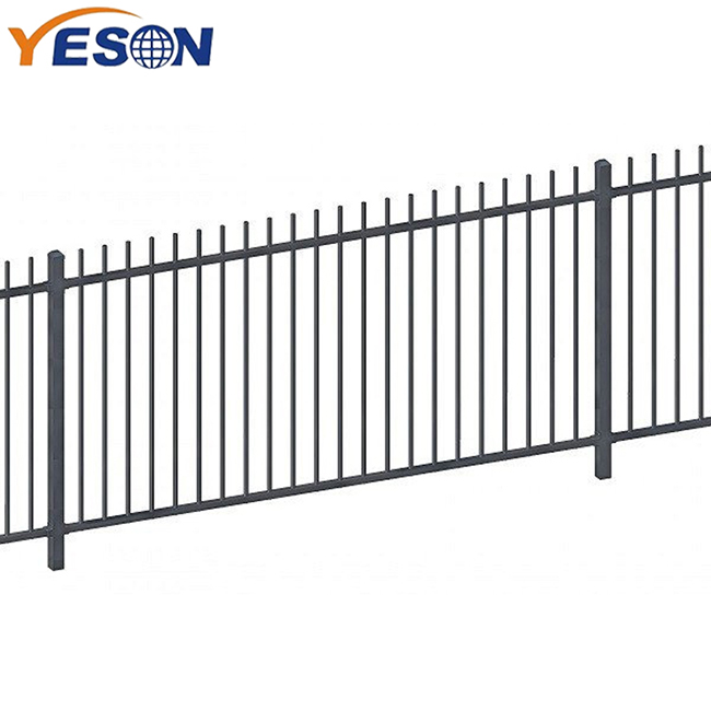 2019 High quality Wrought Iron Fence Panels Wholesale - rod top fence – Yeson