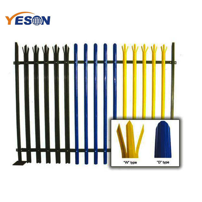 China wholesale Steel Palisade Fencing - palisade fence – Yeson