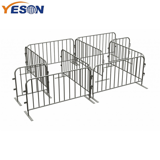 Factory Supply Tube Safety Crowd Control Barrier - crowd control barrier – Yeson