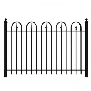 OEM/ODM Supplier Fancy Wrought Iron Fence - bow top fence – Yeson