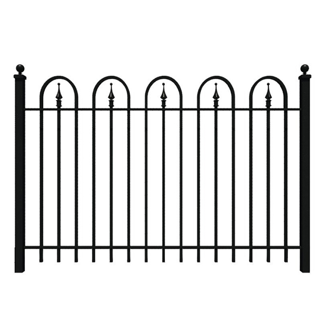 High Quality Wrought Iron Gate - bow top fence – Yeson