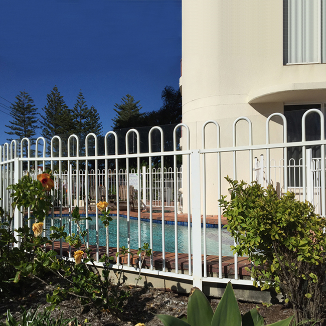 Chinese Professional Black Steel Fence - Wrought Iron Metal Fence – Yeson Featured Image