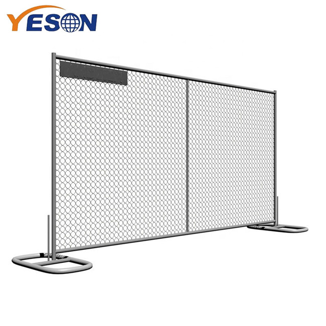New Arrival China Parking Fence - Chain link Temporary fence – Yeson