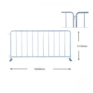 China Safety Barrier Fence – Traffic Fence Barrier – YESON