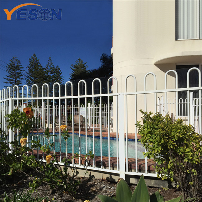 High Quality for Ornamental Wrought Iron Fence - bow top fence – Yeson