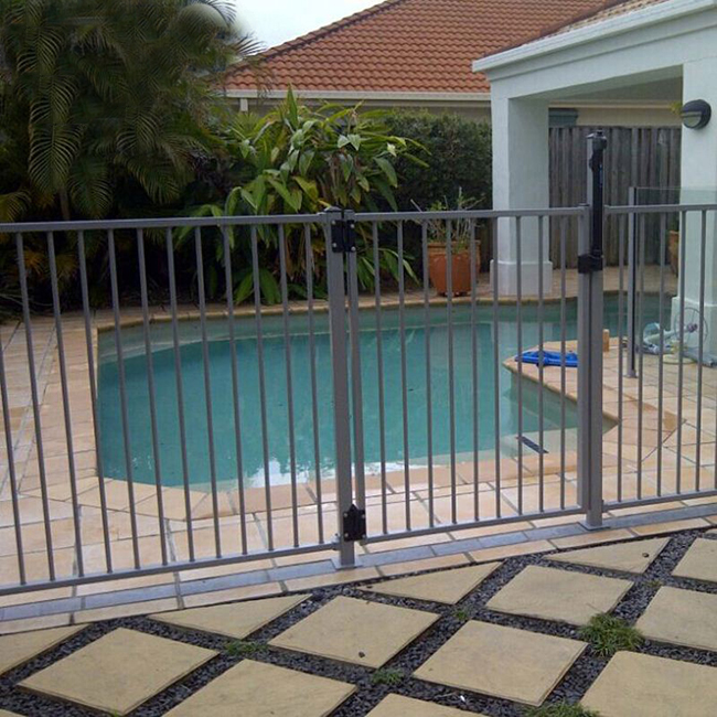 High Quality Wrought Iron Gate - flat top fence – Yeson Featured Image