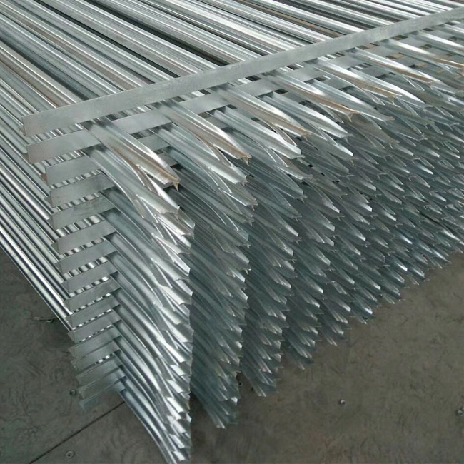 Professional China Metal Palisade Fence - Galvanized Palisade Fence Panels – Yeson detail pictures