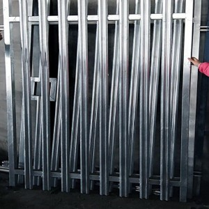 Galvanized Palisade Fence Panels