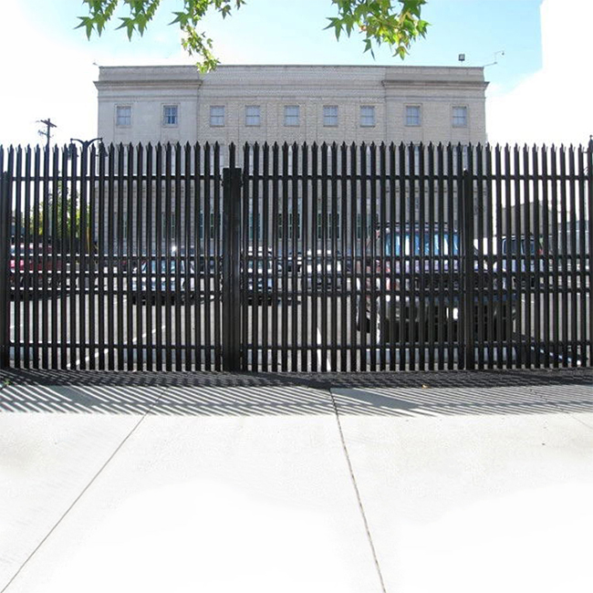 2019 wholesale price Ornamental Security Palisade Fence - palisade fence – Yeson