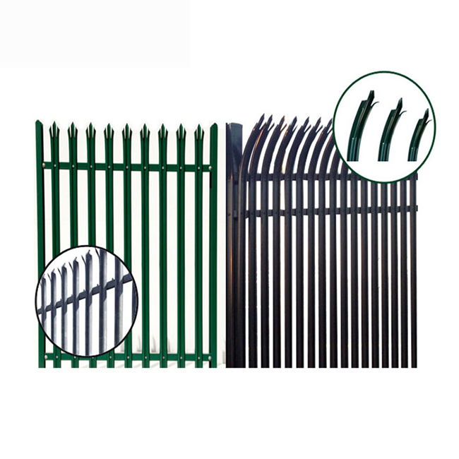 2019 High quality Palisade Security Fence - Metal Palisade Fence – Yeson Featured Image