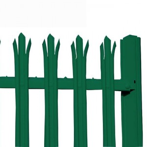 2019 wholesale price Ornamental Security Palisade Fence - PVC Palisade Fence – Yeson