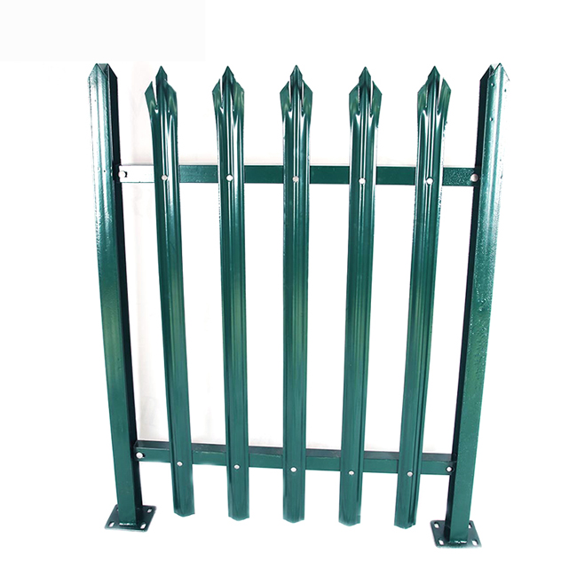2019 High quality Palisade Security Fence - Metal Palisade Fence – Yeson
