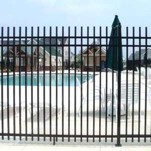 rod top fence
