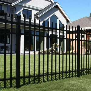 Good Wholesale Vendors Outdoor Aluminum Fence Panels - Wrought Iron Gate – Yeson