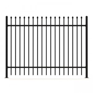 Hot-selling Flat Top Wrought Iron Fence - spear top Fence – Yeson