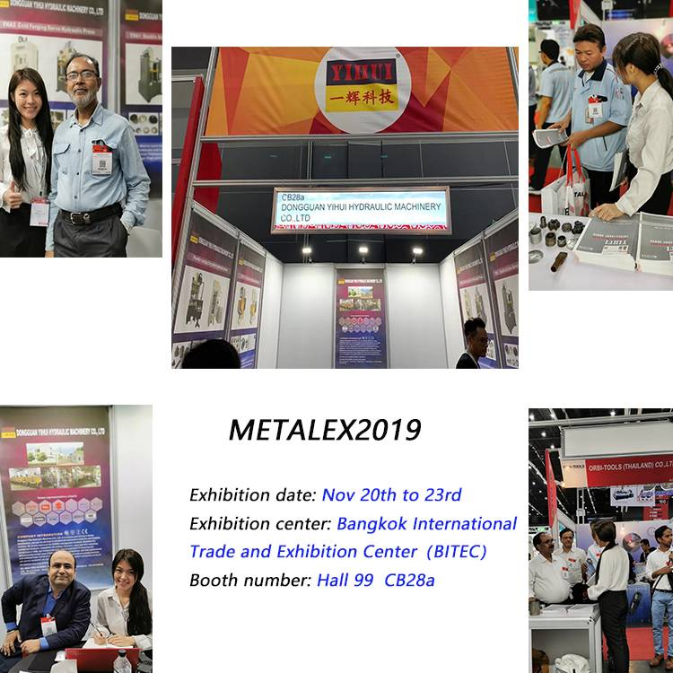 News [YIHUI] da METALEX2019 exposition