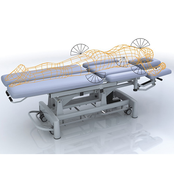 OEM/ODM Manufacturer Disposable Sterile Gown - Eight Sectioned Manipulation Couch YK-8000C1 – Yikang