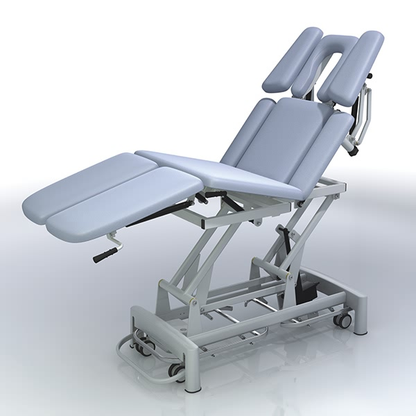 Ordinary Discount Half Finger Fitness - 9 Section Portable Chiropractic Table – Yikang