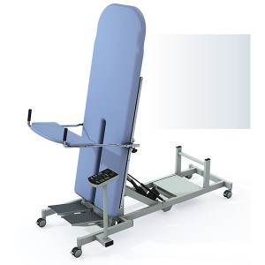 China Gold Supplier for Medical Instrument Single Manual Crank Hospital Bed With Pan Used Nursing Home For Paralysis Patient Automatic Tilt Table