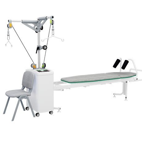 OEM/ODM China Portable Ultrasound Machine - Factory source Adjustable Medical Lumbar Sacrum Back Brace Thoracic Support Orthosis For Physiotherapy Equipment Traction Table With Warmth – Yikang