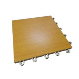 Wood Model Grain Interlocking Tile With Easy Installation