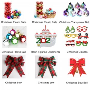 New All Kinds Of Christmas Tree Decoration Ornaments Gift Product