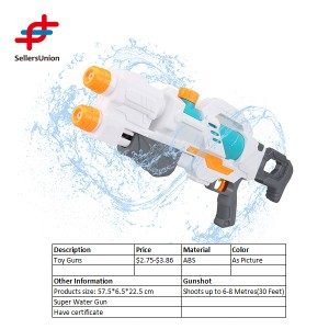 Water gun shoot up to 30ft two nozzle toy water gun for summer
