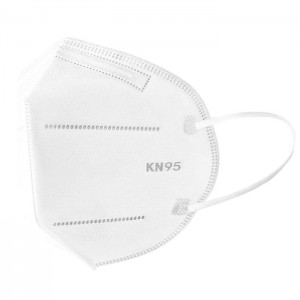 Professional personal protection breathable white disposable kn95 mask 4 ply face masks