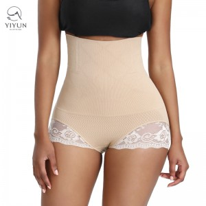 Butt Lifter Panties Tummy Control Slimming Body Shaper Control Panty Sexy Lace Womens High Waist Shapewear