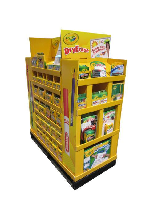 Manufacturing Companies for Corrugated Cardboard Sidekick Display -