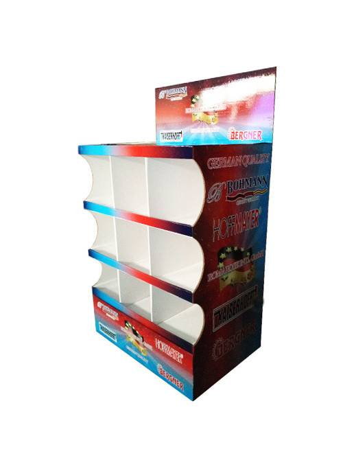 Excellent quality Corrugated Paper Floor Display -