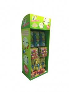 Factory wholesale Floor Carton Display -