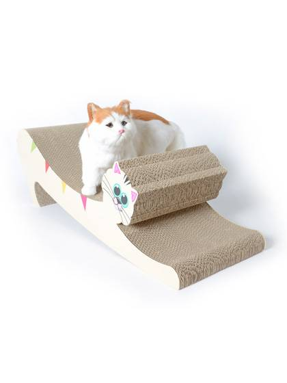 Hot New Products Cat Scratcher Corrugated Cardboard -