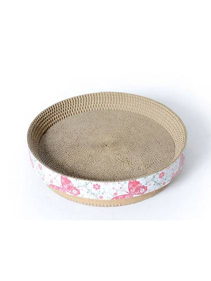 Bowl Style Cat Scratcher