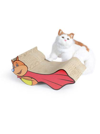 Lovely Corrugated Cardboard Cat Scratcher Featured Image