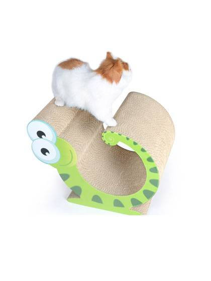 Cardboard Cat Toy detail pictures