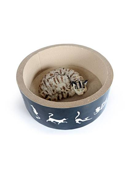 Professional China Cat Shape Design Cat Scratcher -