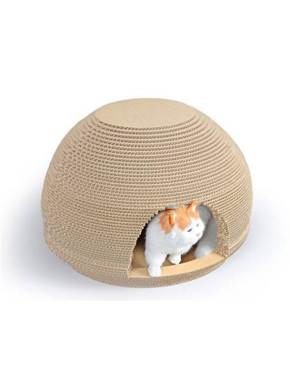 Round Cat Lounge Cat House