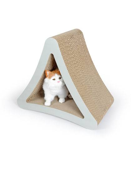 Cardboard Cat Scratcher Featured Image