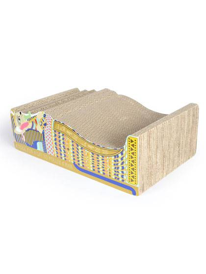 A flute Corrugated Cat Scratcher detail pictures