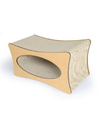 Top Suppliers Cat Shape Cat Scratcher -