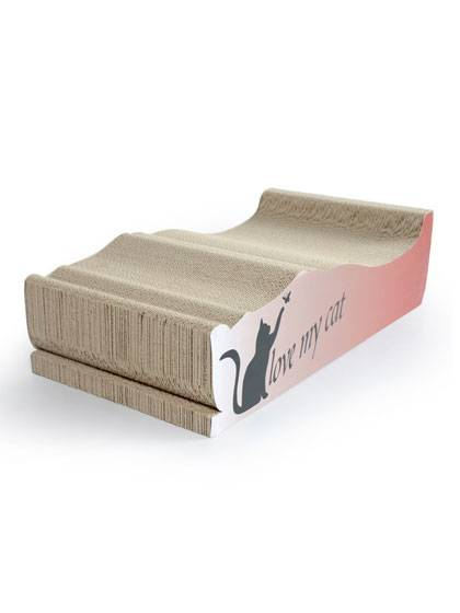 Factory source Corrugated Cat Scratcher Furniture -